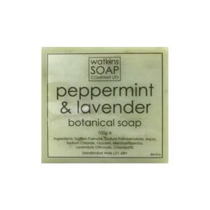 Peppermint & Lavender Botanical Soap