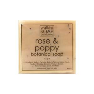 Rose & Poppy Seed Exfoliating Botanical Soap