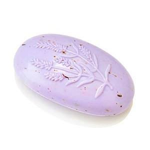 Schafmilch Seife oval Lavendel